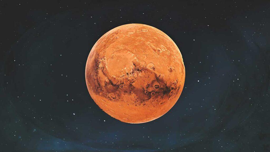4 – كوكب المريخ Mars