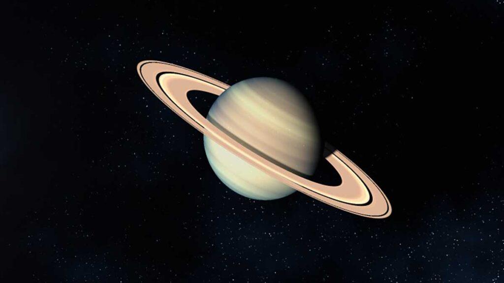 6 – كوكب زحل Saturn